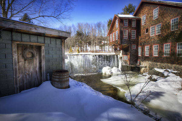 Frye's Print featuring the photograph Frye's Measure Mill by Eric Gendron