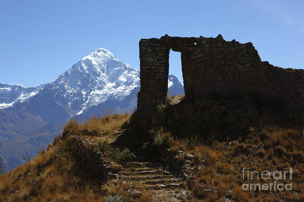 Peru Print featuring the photograph Gateway To The Gods 2 by James Brunker