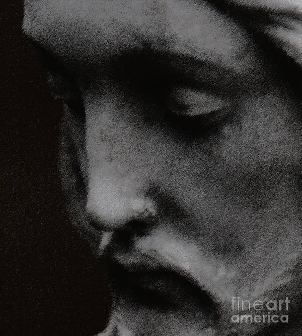 Statuary Print featuring the photograph Gethsemane by Linda Knorr Shafer