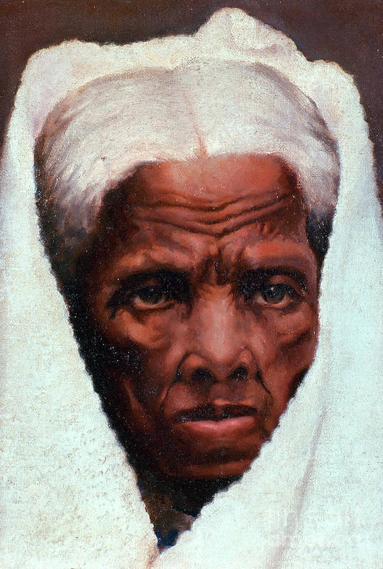 History Print featuring the photograph Harriet Tubman, African-american by Photo Researchers