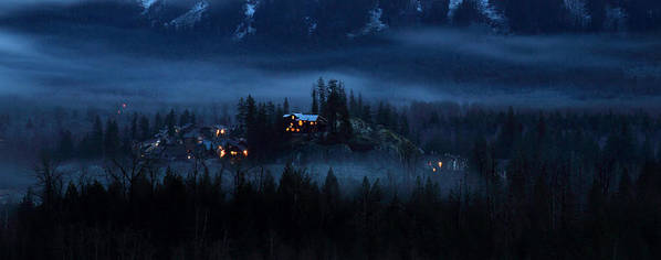 House Print featuring the photograph House On Haunted Hill Pemberton by Pierre Leclerc Photography