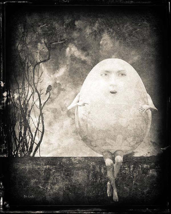Humpty Dumpty Print featuring the photograph Humpty Dumpty by Bob Orsillo