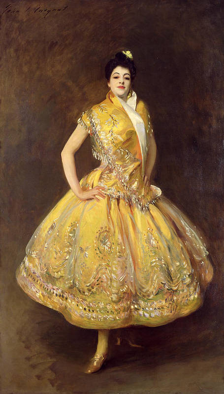 La Carmencita Print featuring the painting La Carmencita by John Singer Sargent