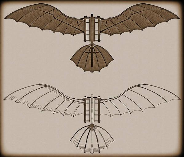 leonardo da vinci flying machine
