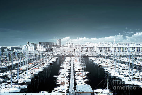 Marseille Blues Print featuring the photograph Marseille Blues by John Rizzuto