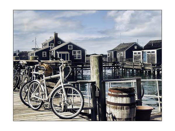 Nantucket Print featuring the photograph Nantucket Bikes 1 by Tammy Wetzel