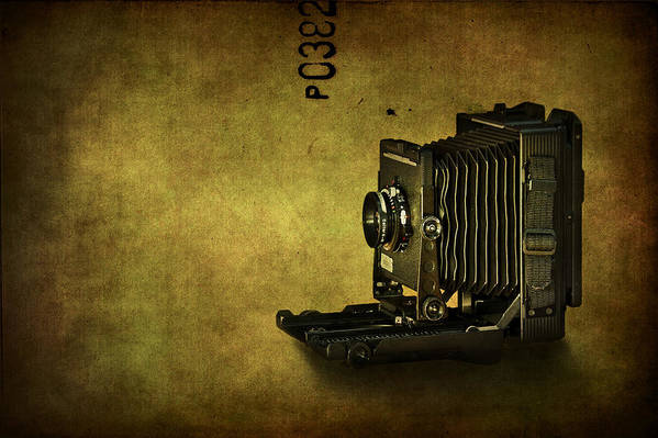 Camera Print featuring the photograph Old School by Evelina Kremsdorf