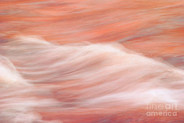 water Abstract Print featuring the photograph Osomone by Aimelle