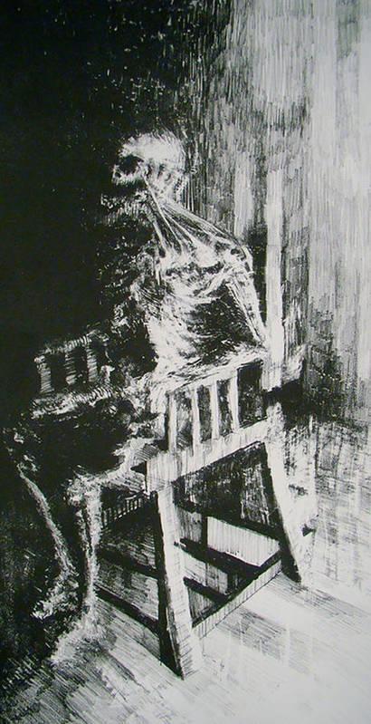 Paranoiac Print by Nathan Bishop