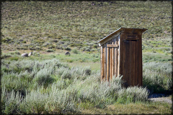 Outhouse Print featuring the photograph Pit Stop by Kelley King