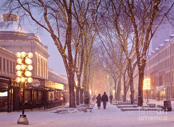Architecture Print featuring the photograph Quincy Market Stroll by Susan Cole Kelly