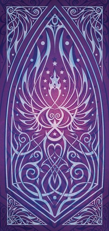 Feminine Print featuring the digital art Sacred Feminine by Cristina McAllister