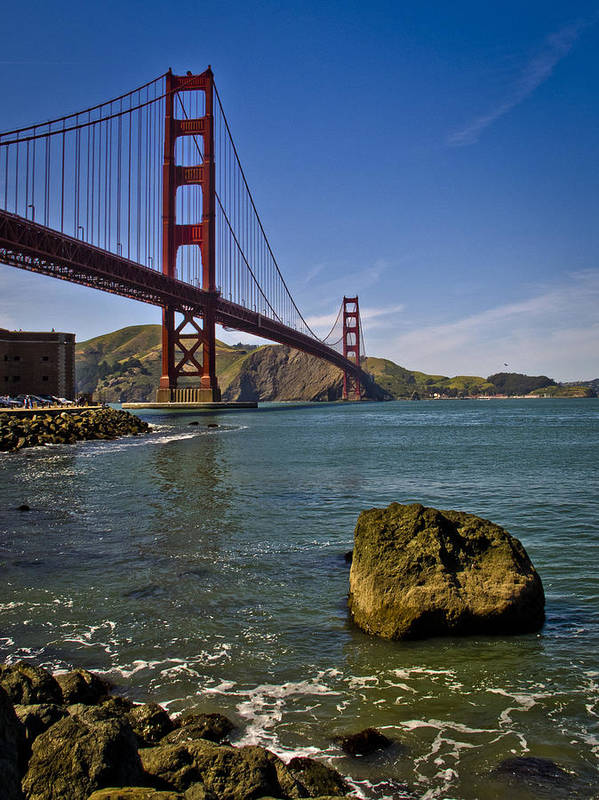 San Francisco Print featuring the photograph San Francisco by Niels Nielsen