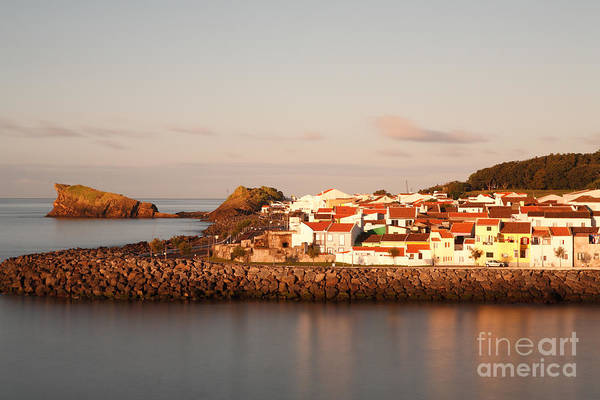 Seascape Print featuring the photograph Sao Roque At Sunrise by Gaspar Avila
