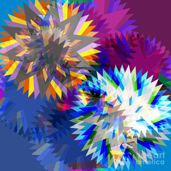 Art Print featuring the digital art Saw Blade by Atiketta Sangasaeng