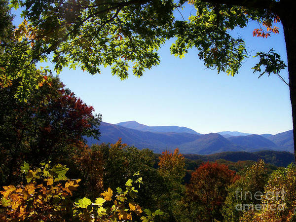 Mountains Print featuring the photograph Smoky Mountains by Lena Auxier