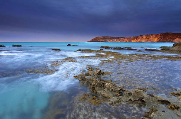 Dawn Print featuring the photograph Storm Light by Mike Dawson