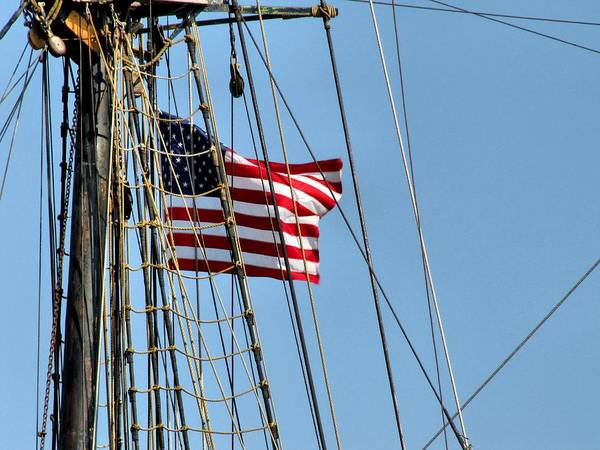 Hovind Print featuring the photograph Tall Ship Series 3 by Scott Hovind