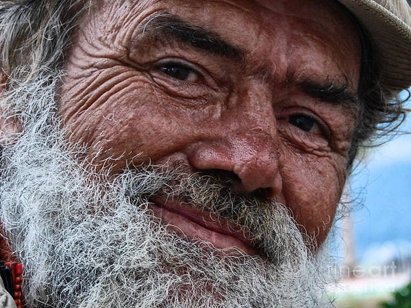 Homeless Print featuring the photograph The Smile Of Life by Erhan OZBIYIK