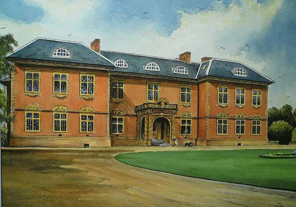 Tredegar House Print featuring the painting Tredegar House by Andrew Read