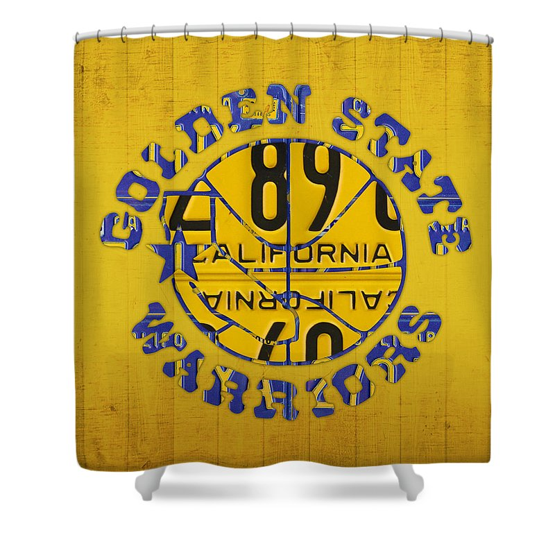Golden State Warriors Shower Curtains For Sale