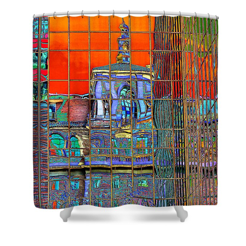 ... to Phyllis Denton | Shop > Shower Curtains > Buildings Shower Curtains
