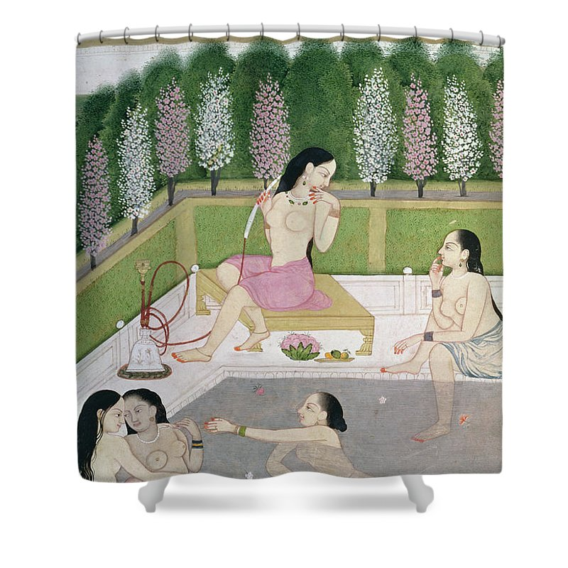 Girls Bathing Shower Curtain For Sale By Indian School