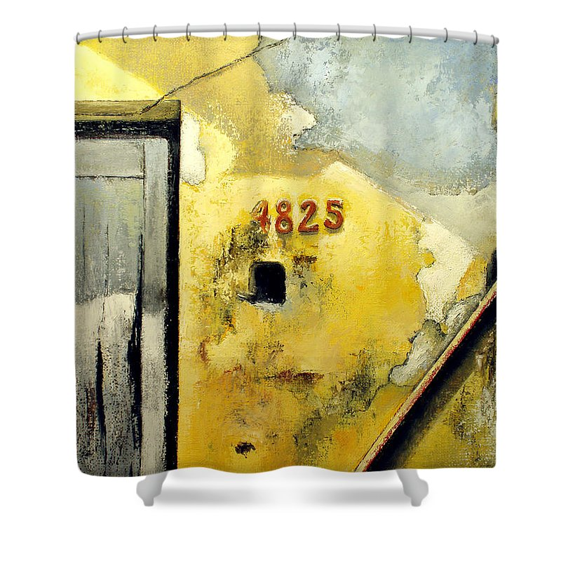 Havana Shower Curtain featuring the painting Solana by Tomas Castano