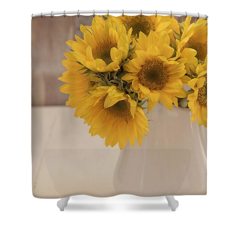 Sunflowers Shower Curtain For Sale By Kim Hojnacki