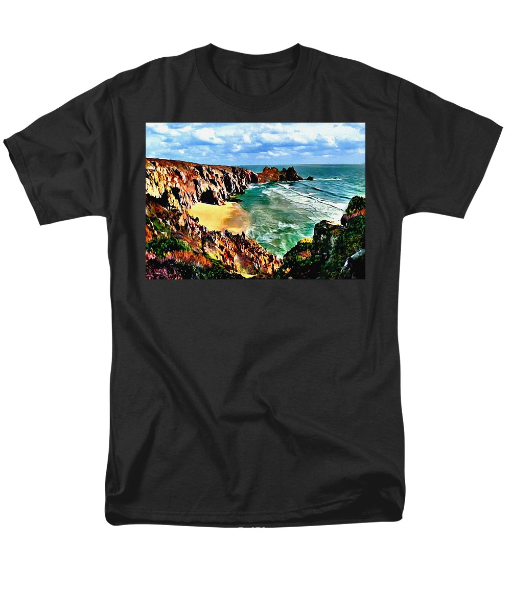 big sur coast california original painting t shirt for. Black Bedroom Furniture Sets. Home Design Ideas