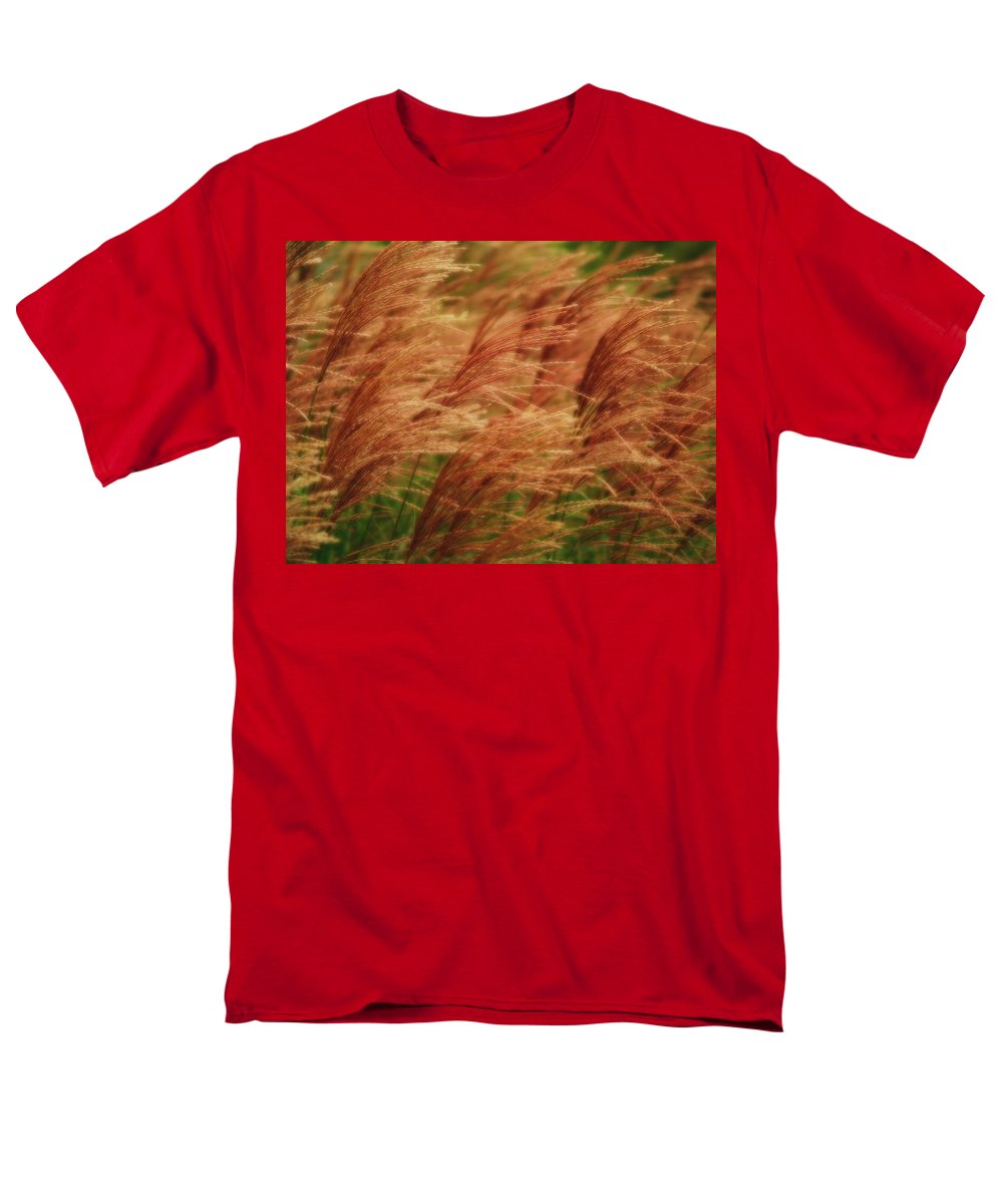 Win Men's T-Shirt (Regular Fit) featuring the photograph Blowing In The Wind by Gaby Swanson