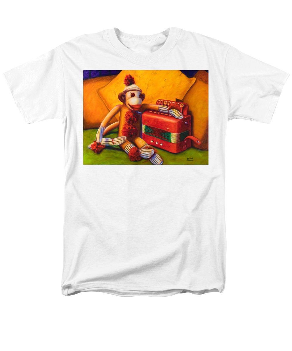 Children Men's T-Shirt (Regular Fit) featuring the painting Accordion by Shannon Grissom