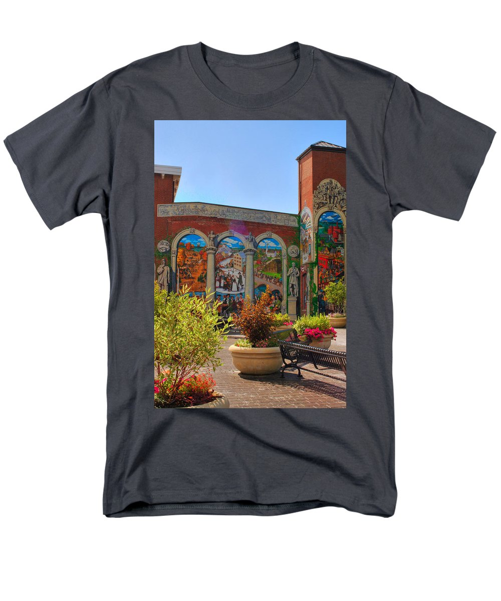 Painted history 4 t shirt for sale by joann vitali for Murals on the t shirt
