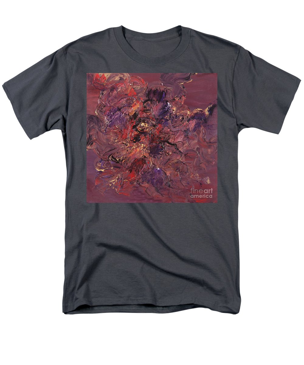 Love Men's T-Shirt (Regular Fit) featuring the painting Love by Nadine Rippelmeyer