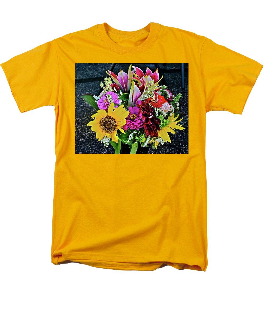 2016 monona farmers 39 market bouquet 5 t shirt for sale by janis nussbaum senungetuk. Black Bedroom Furniture Sets. Home Design Ideas