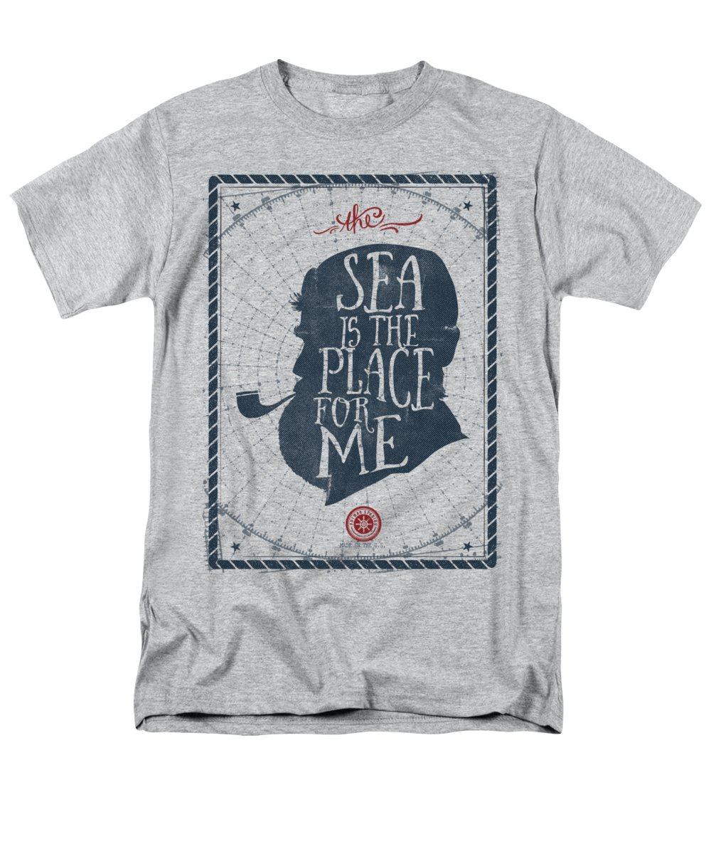 The Sea Is The Place For Me T Shirt For Sale By Kevin Putman