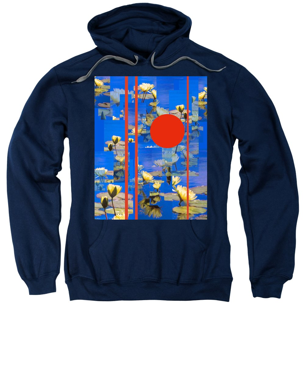 Flowers Sweatshirt featuring the photograph Vertical Horizon by Steve Karol