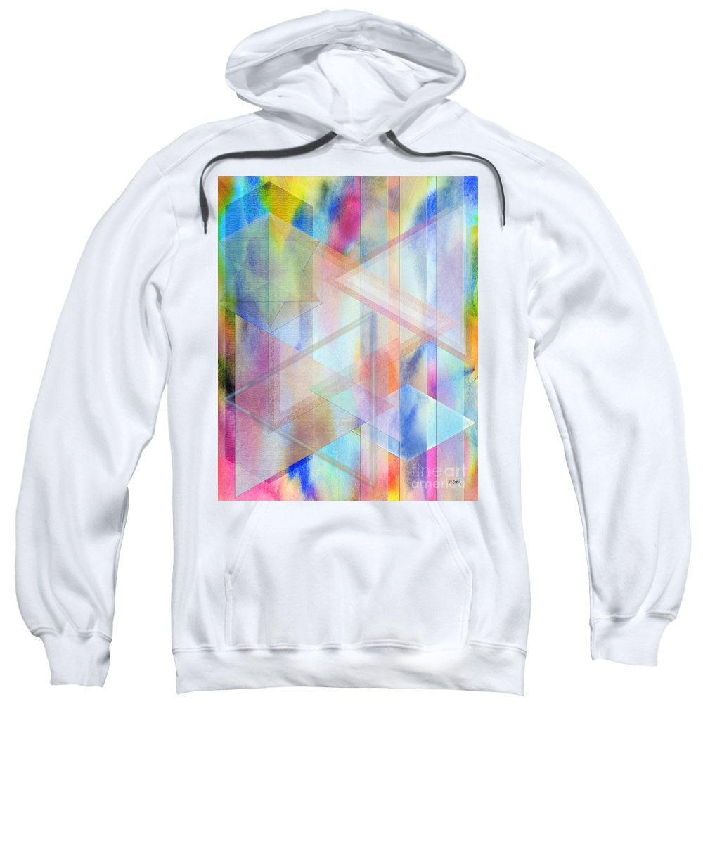 Pastoral Moment Sweatshirt featuring the digital art Pastoral Moment by John Robert Beck