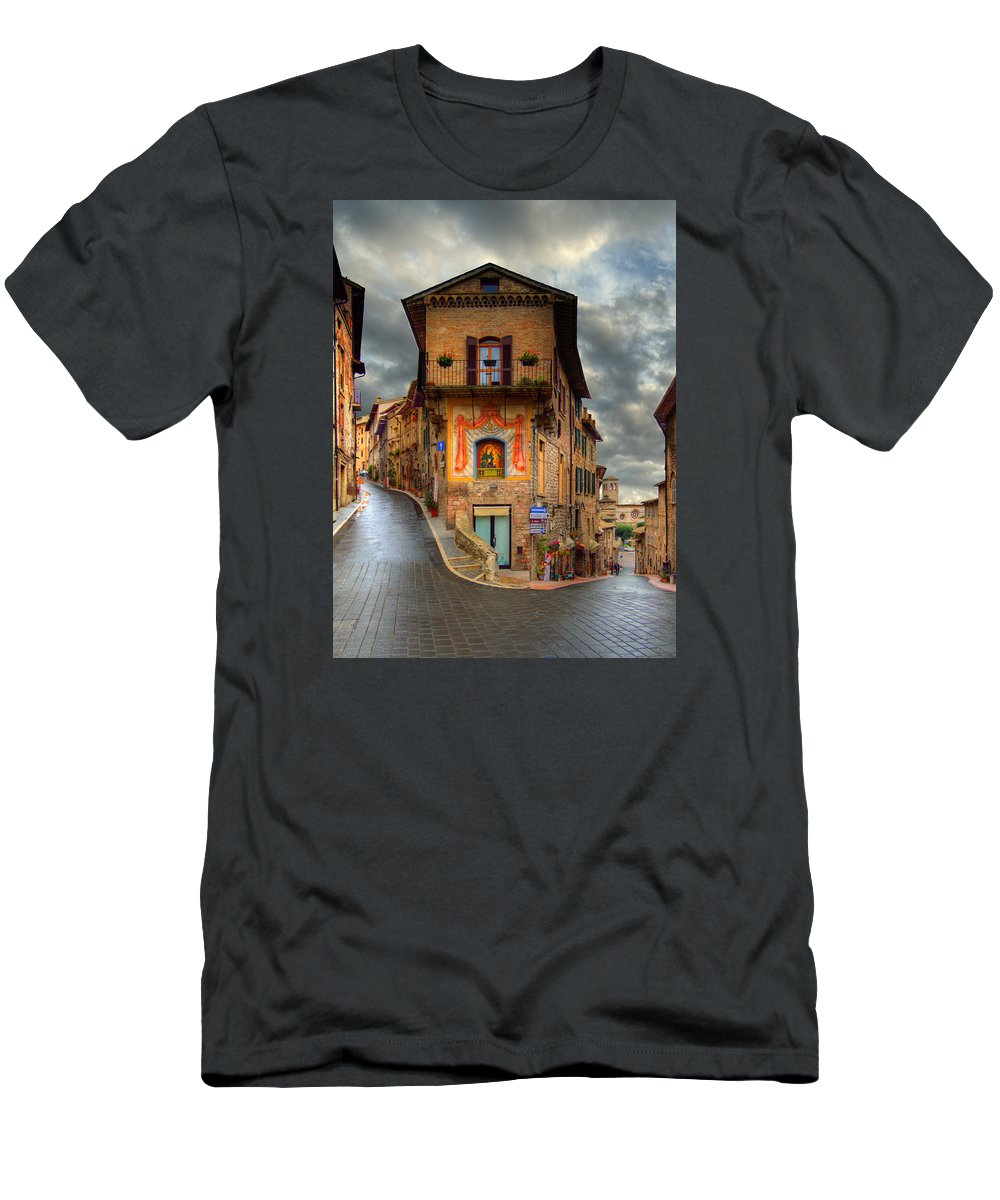 The mural slim fit t shirt for sale by darin williams for Murals on the t shirt
