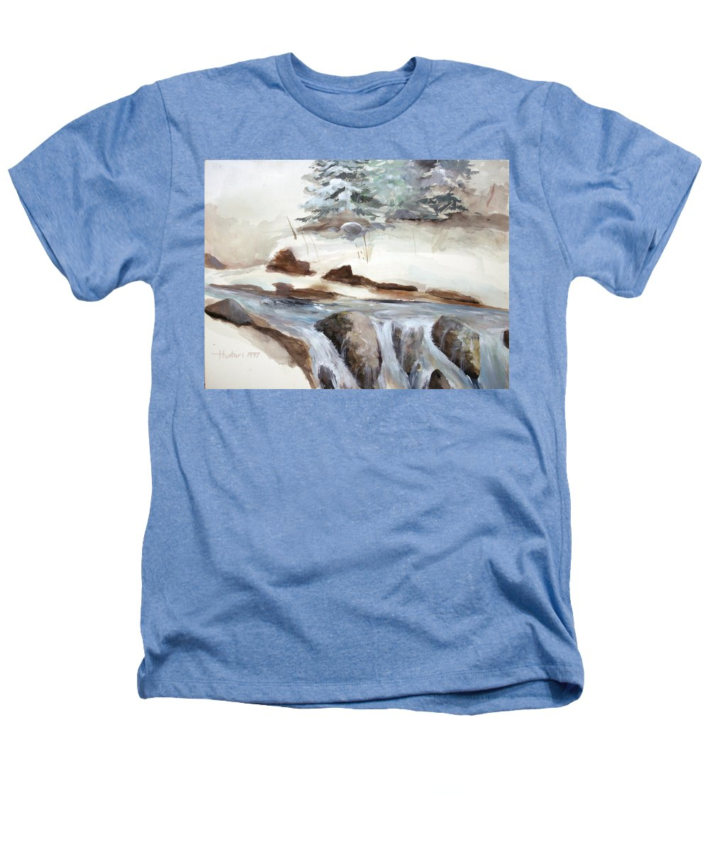 Rick Huotari Heathers T-Shirt featuring the painting Springtime by Rick Huotari