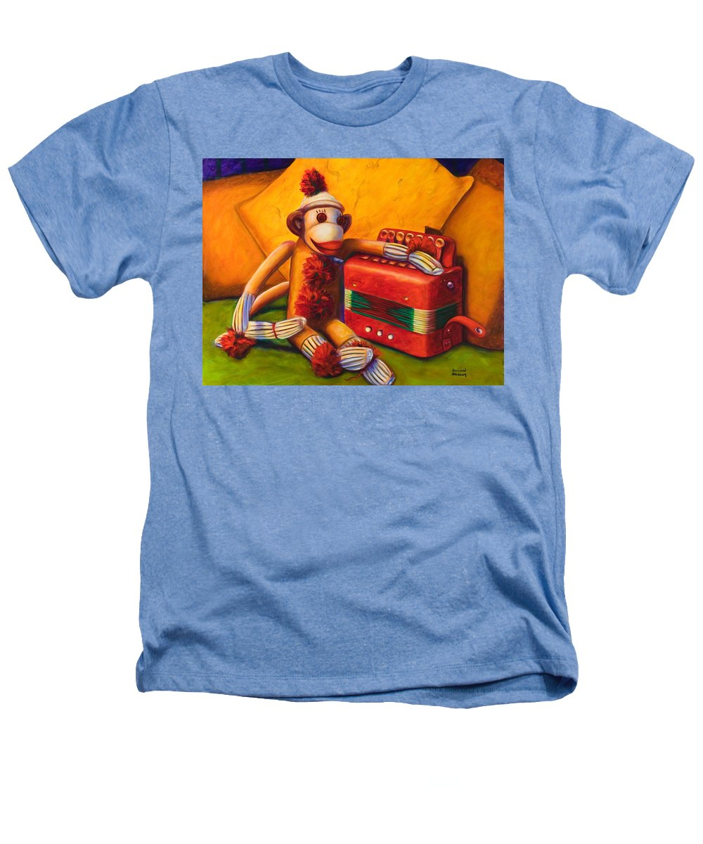 Children Heathers T-Shirt featuring the painting Accordion by Shannon Grissom