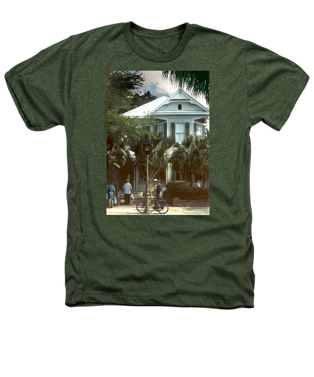 Historic Heathers T-Shirt featuring the photograph Keywest by Steve Karol