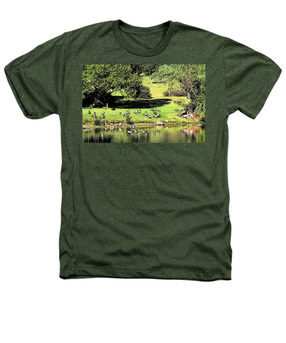 Bird Heathers T-Shirt featuring the photograph Last Days Of Summer by Gaby Swanson