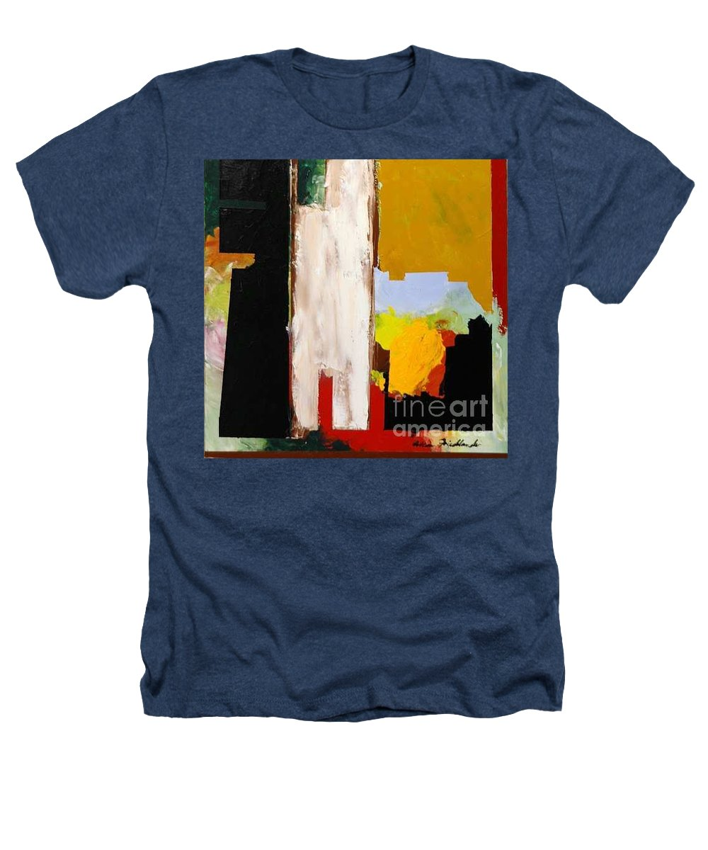 Landscape Heathers T-Shirt featuring the painting Jordan Park 511 by Allan P Friedlander