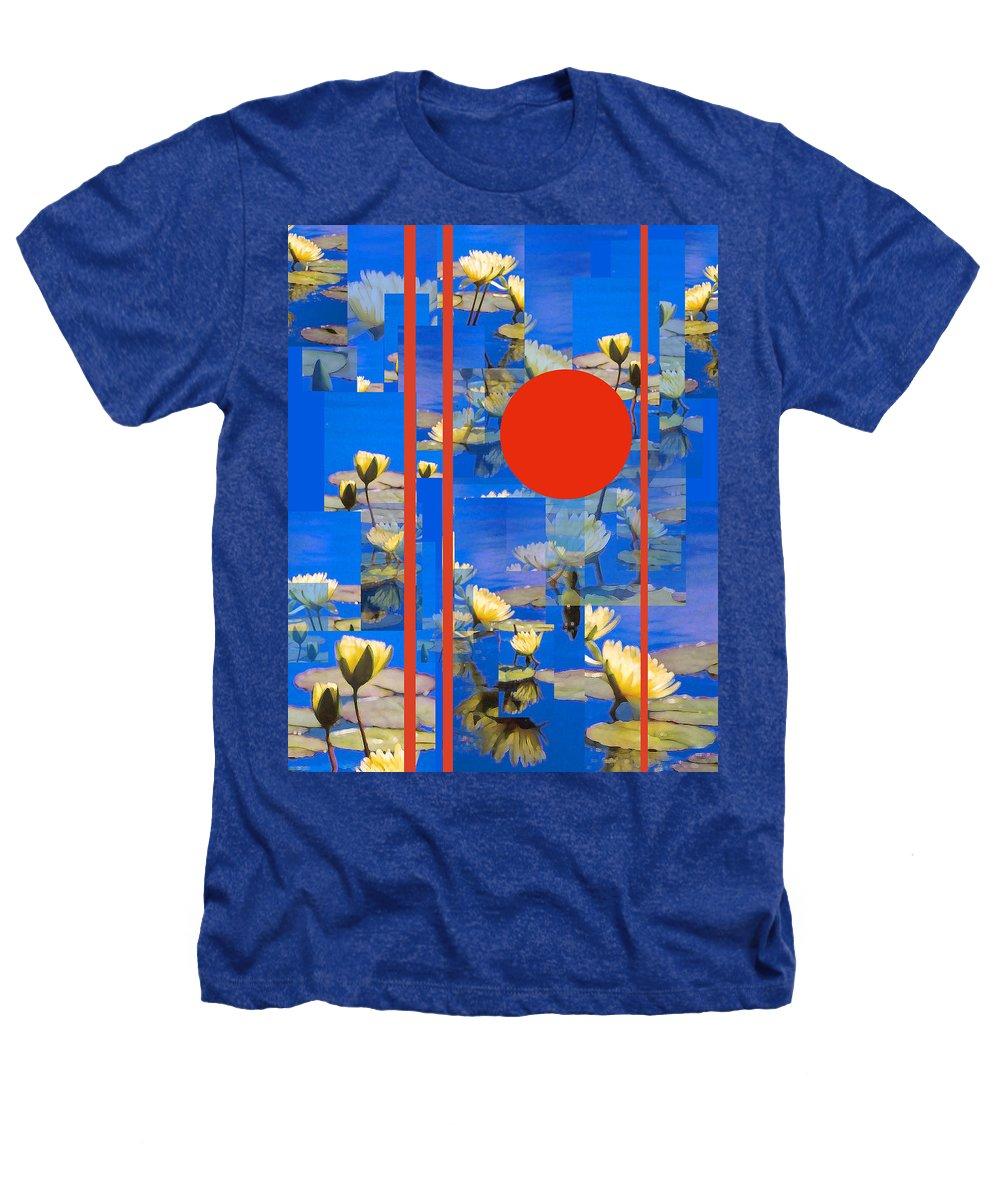 Flowers Heathers T-Shirt featuring the photograph Vertical Horizon by Steve Karol