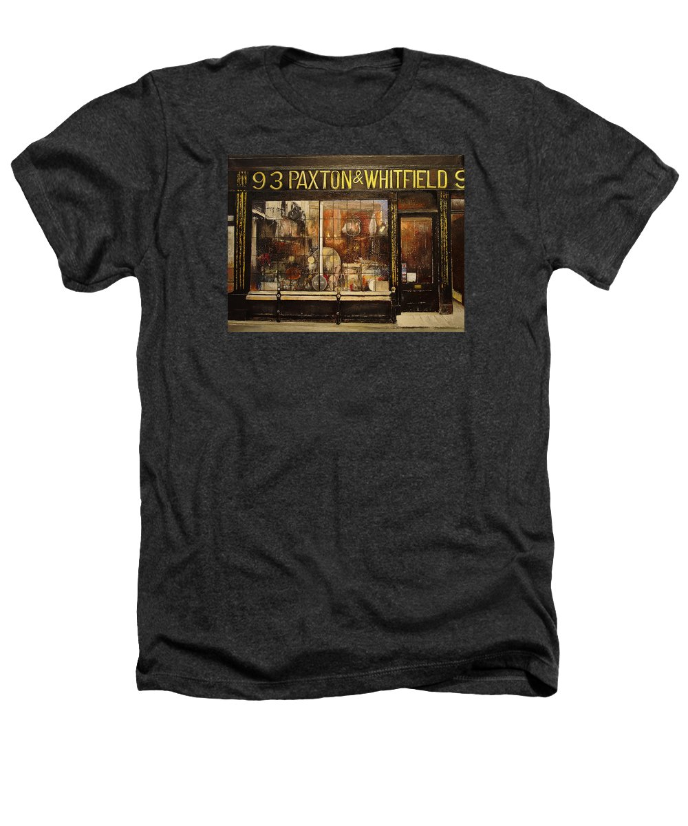 Paxton Heathers T-Shirt featuring the painting Paxton Whitfield .london by Tomas Castano