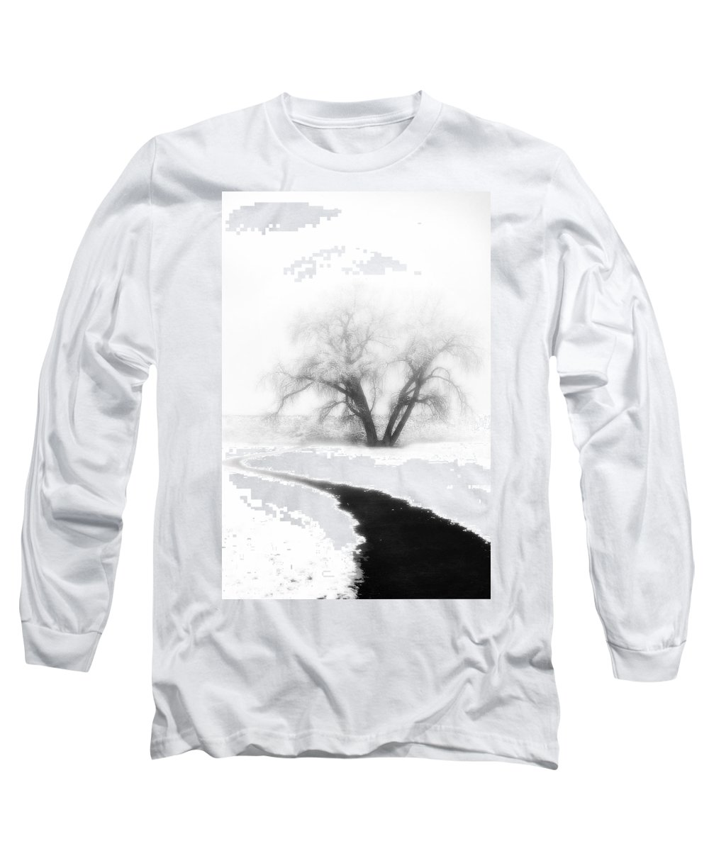 Tree Long Sleeve T-Shirt featuring the photograph Getting There by Marilyn Hunt