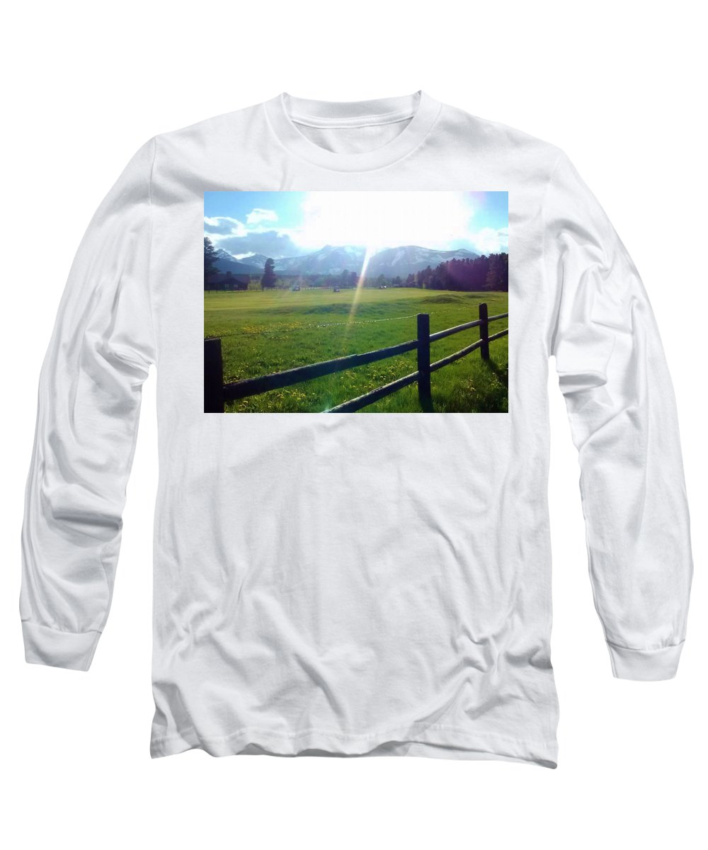 Golf course sun rays long sleeve t shirt for sale by eric for Golf t shirts for sale
