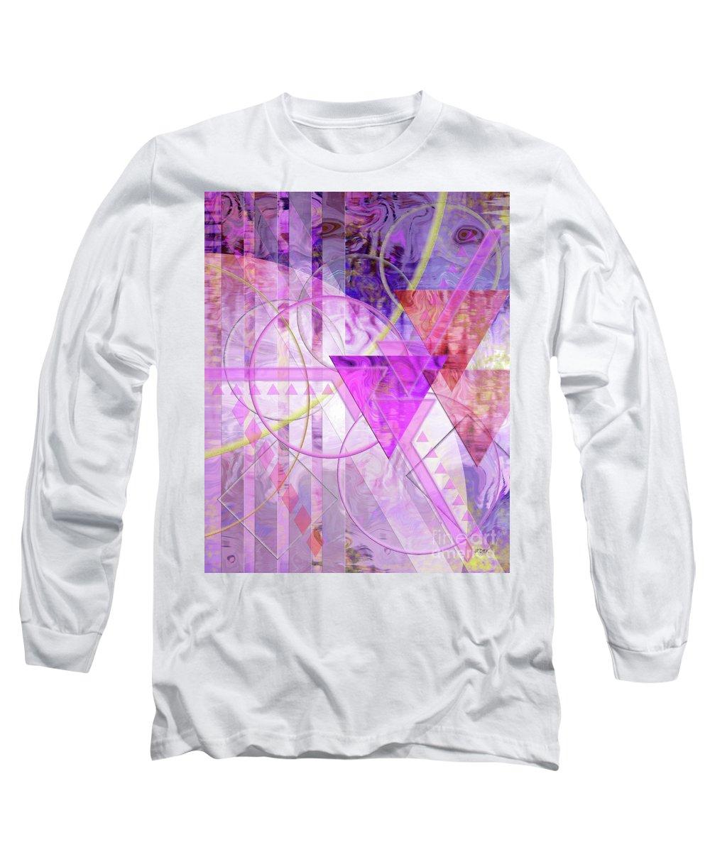 Shibumi Long Sleeve T-Shirt featuring the digital art Shibumi Spirit by John Robert Beck