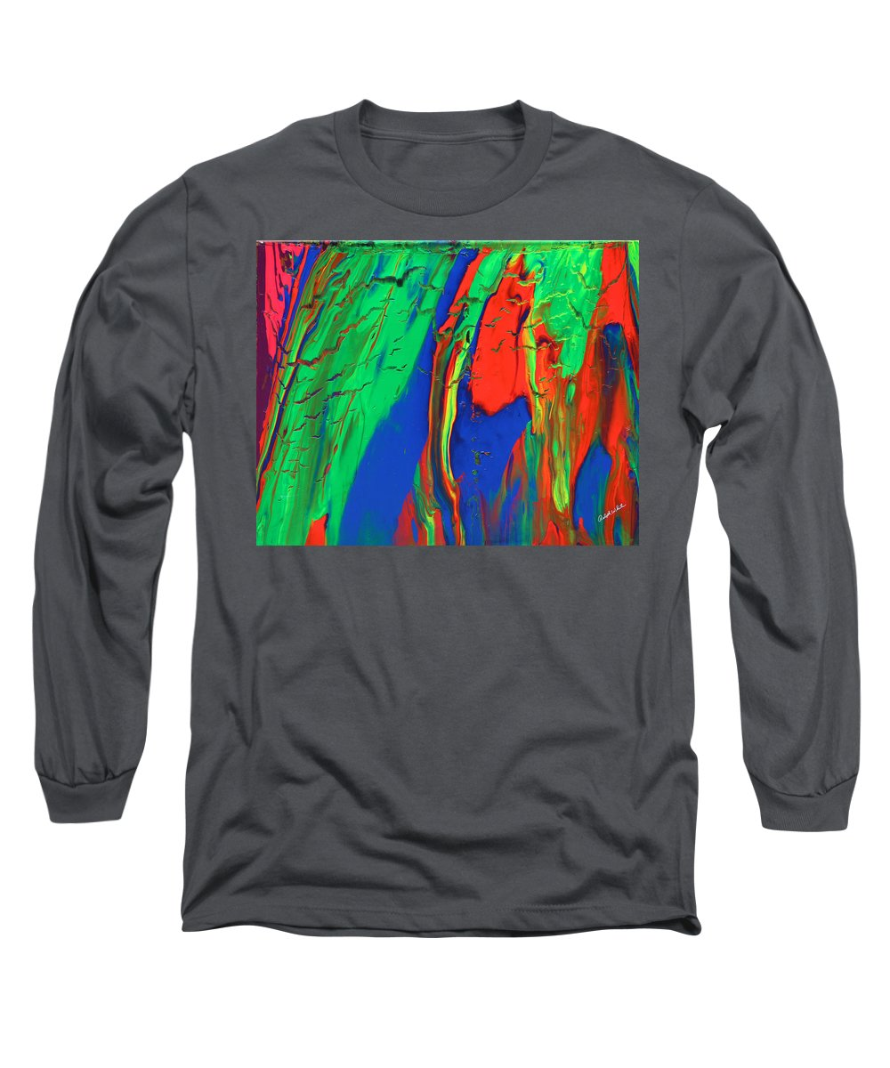 Fusionart Long Sleeve T-Shirt featuring the painting The Escape by Ralph White